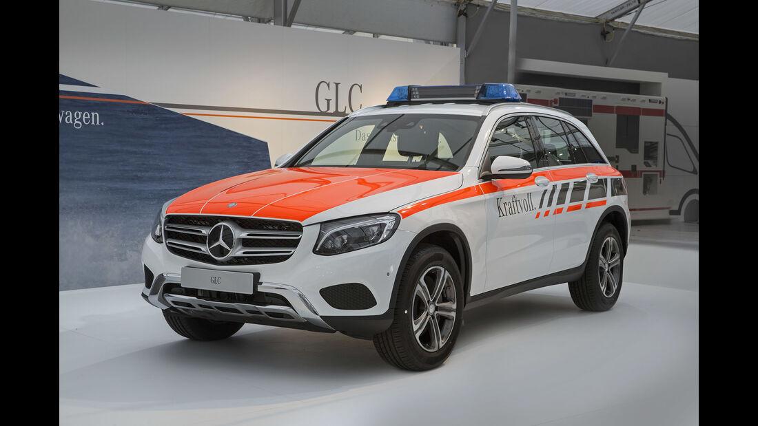 Mercedes Sonderfahrzeuge RETTmobil 2017