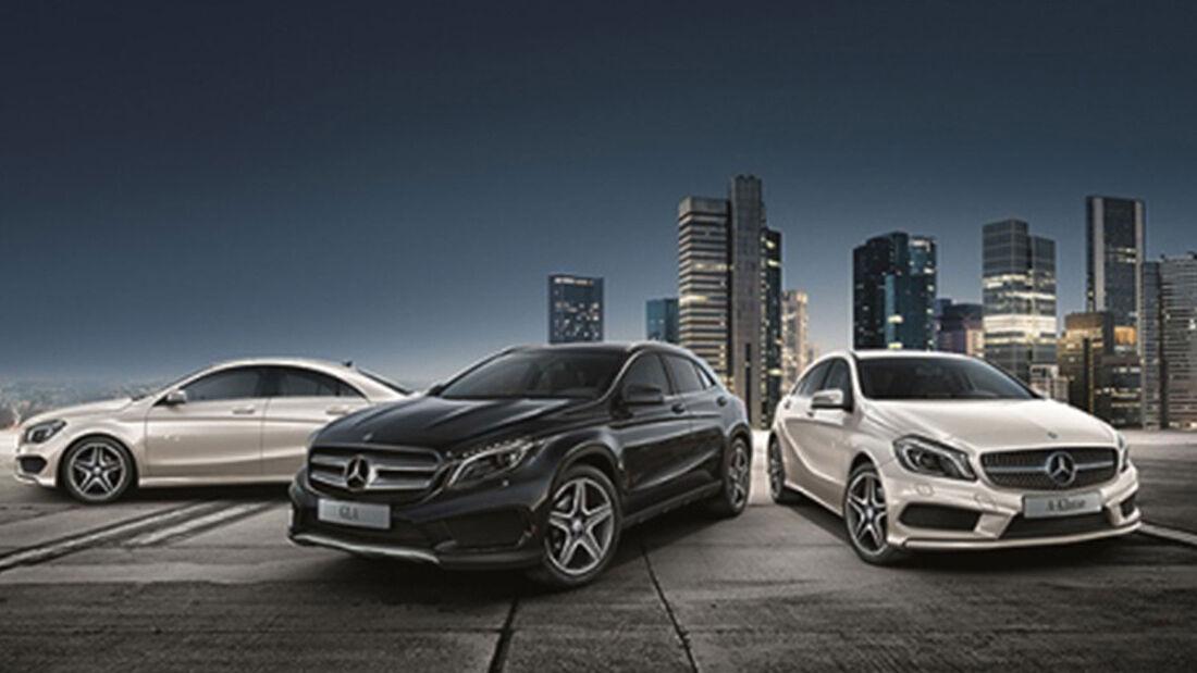 Mercedes Sondermodelle StreetStyle