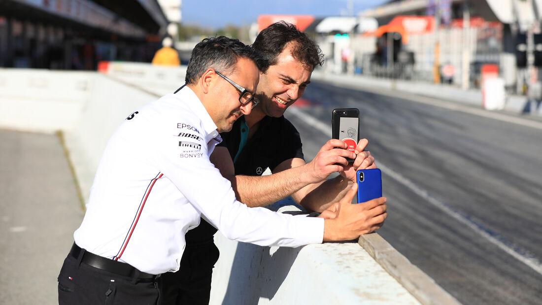 Mercedes-Spione - F1-Test - Barcelona - 26. Februar 2020