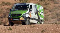 Mercedes Sprinter 4x4 Rallye Aïcha des Gazelles 2014