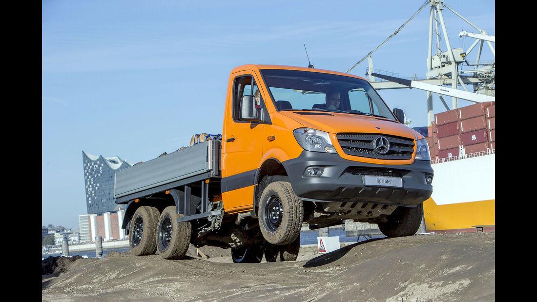 Mercedes Sprinter 6x6 Oberaigner Fahrbericht