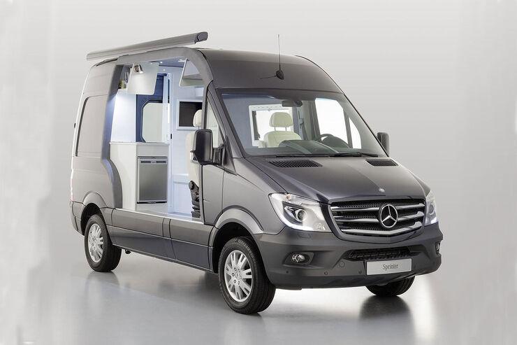 Mercedes Sprinter Caravan Salon 2013 Schnittmodell