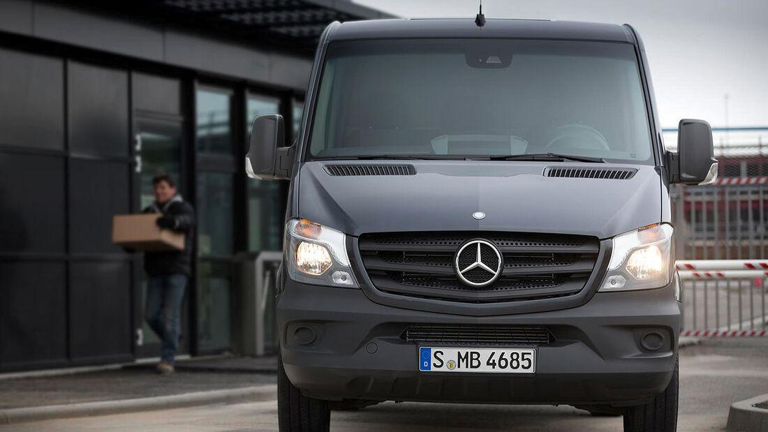 Mercedes Sprinter Facelift 2013