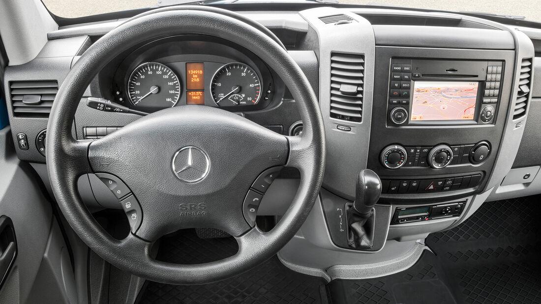 Mercedes Sprinter Generationen 1955 bis 2019