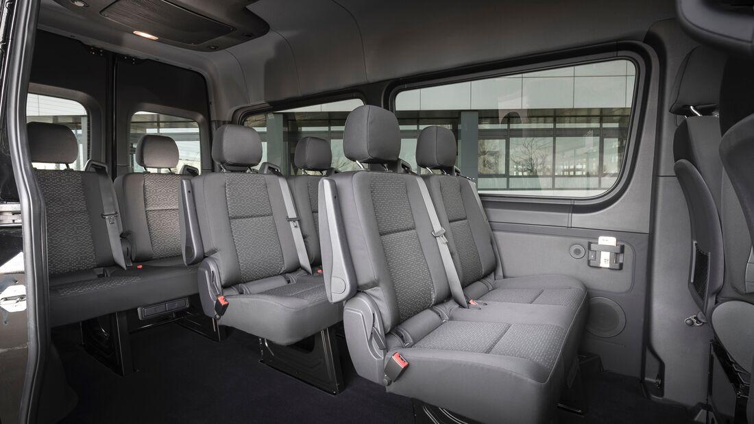 Mercedes Sprinter (ab 2018) Interieur