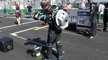 Mercedes - Startvorbereitung - Formel 1 - 2016
