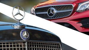 Mercedes Stern Haube Grill Design