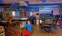 Mercedes Strich 8, Werkstatt