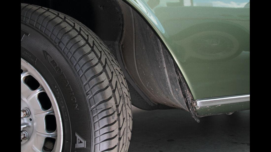 Mercedes Strich Acht, Detail, Felge