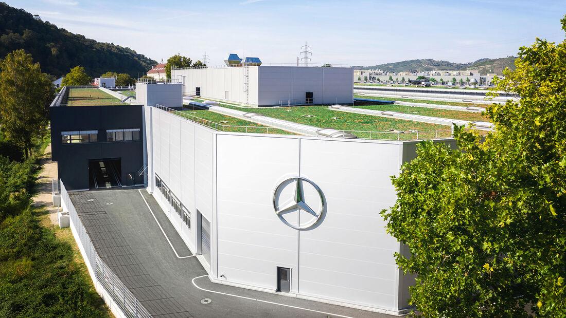 Mercedes Stuttgart-Untertürkheim