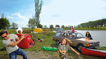 Mercedes T-Modell, Camping