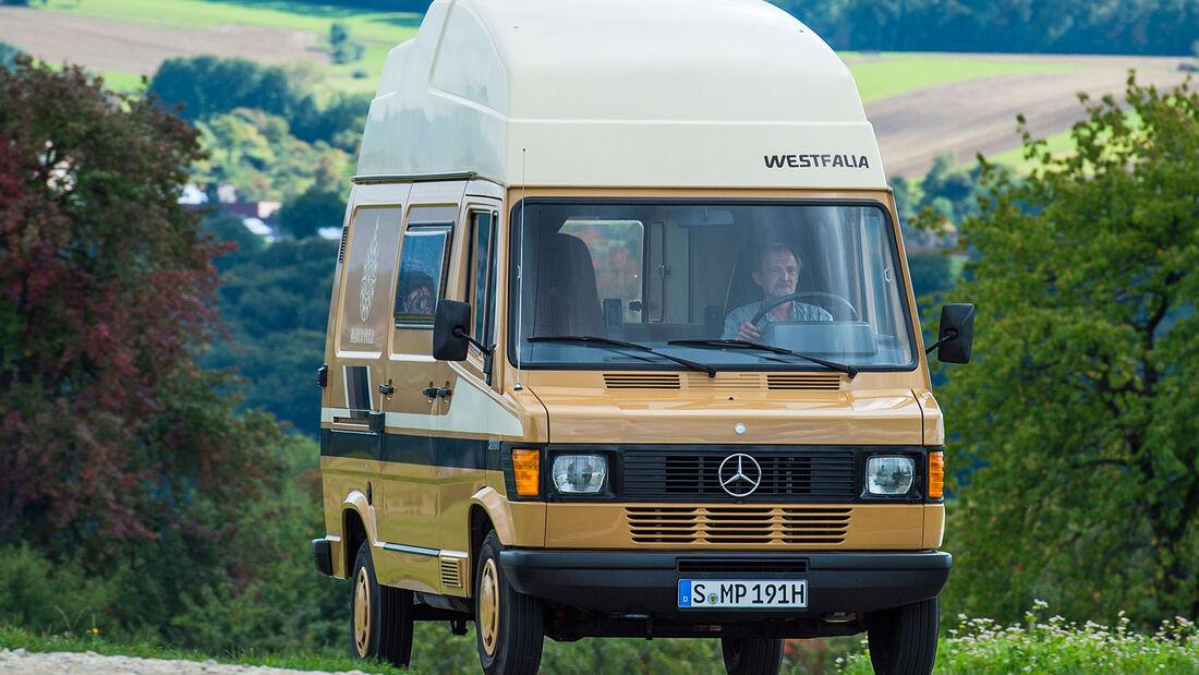 Mercedes T1 209D Westfalia Marco Polo Wohnmobil Oldtimer