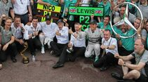 Mercedes Team  - Formel 1 - GP Monaco - 25. Mai 2014