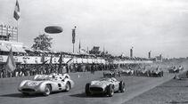 Mercedes-Team, Moss, Fangio, Kling