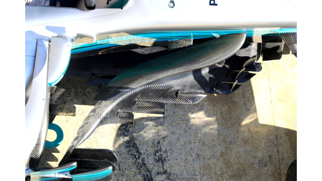 Mercedes - Technik - Barcelona-Test 2017 - Formel 1