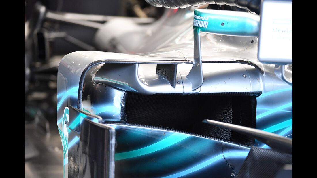 Mercedes - Technik - Formel 1 - 2018