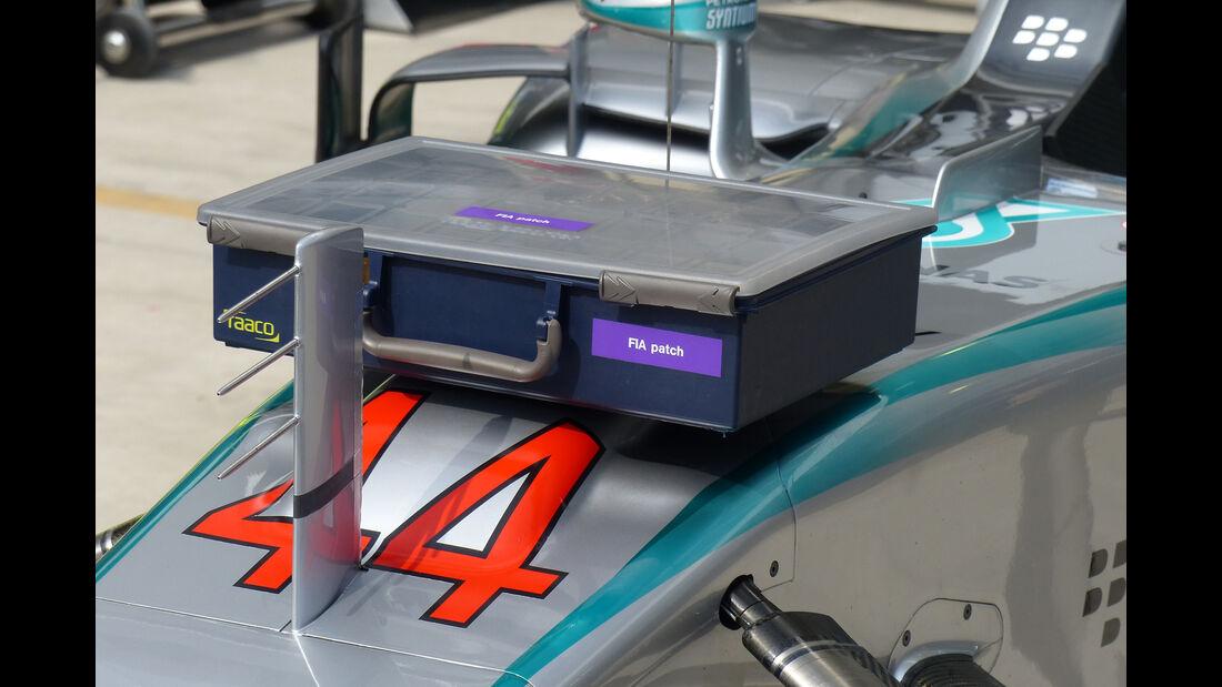 Mercedes - Technik - GP Brasilien 2015