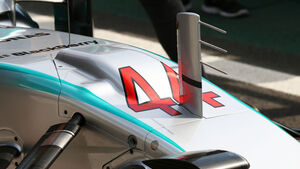 Mercedes - Technik - GP Brasilien 2015