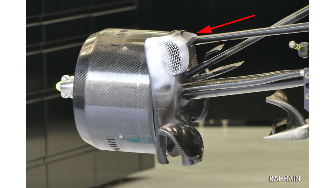 Mercedes - Technik - GP China 2016