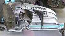 Mercedes - Technik - GP China / GP Bahrain - Formel 1 - 2015