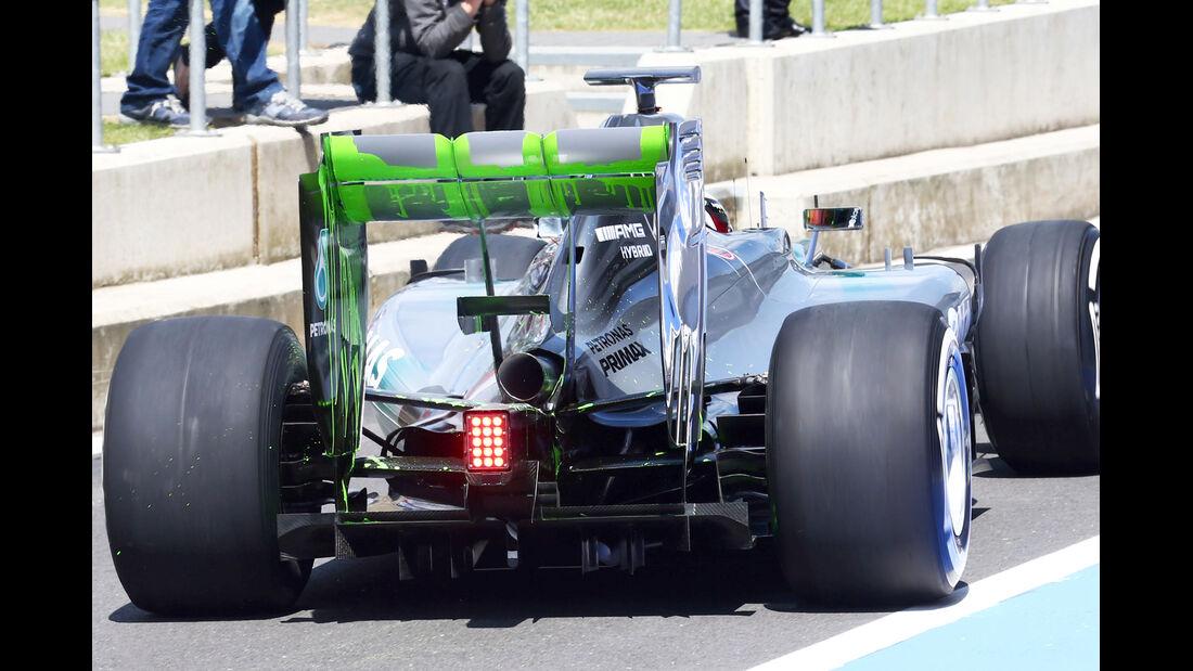 Mercedes - Technik - GP England 2014