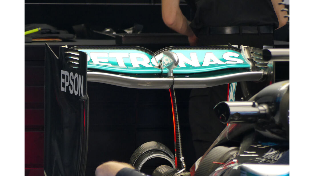 Mercedes - Technik - GP Italien 2016