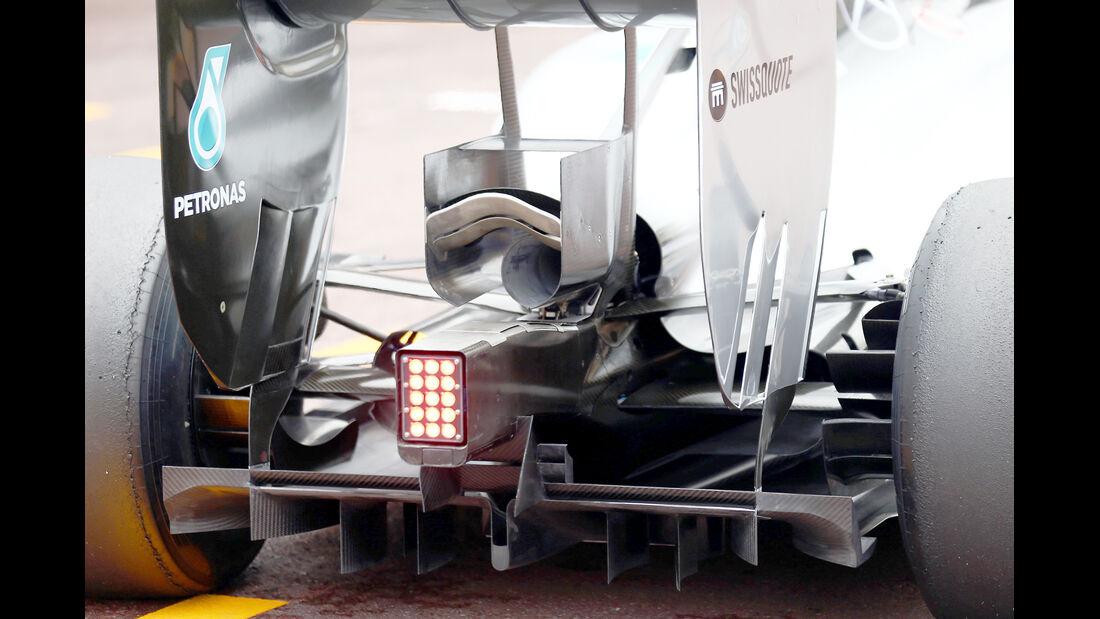 Mercedes - Technik - GP Monaco 2014