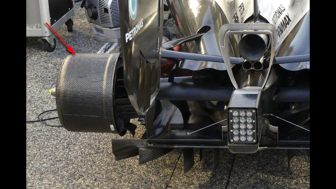 Mercedes - Technik - GP Monaco 2016