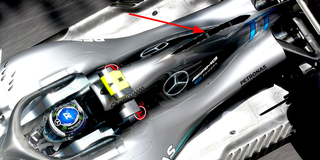Mercedes - Technik - GP Monaco 2018