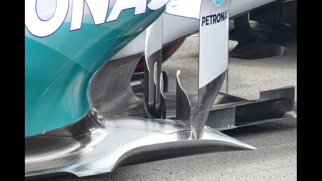 Mercedes - Technik - GP Österreich 2014