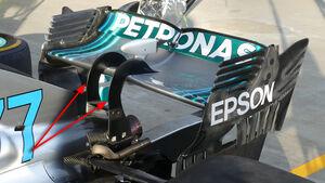 Mercedes - Technik - GP Singapur, Russland & Japan 2018