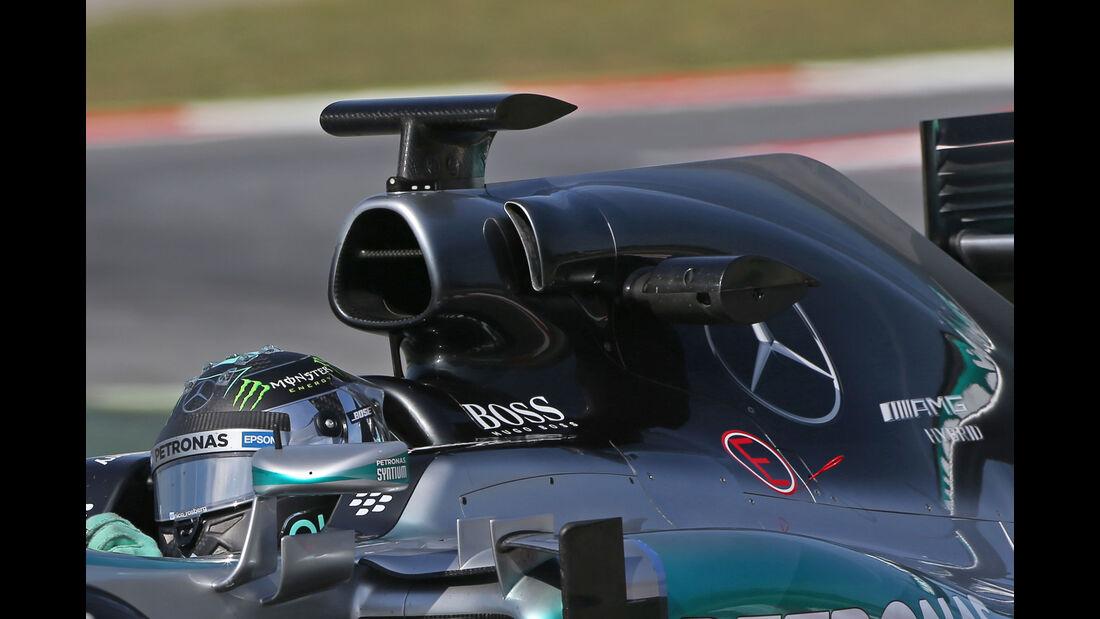 Mercedes - Technik - GP Spanien 2015