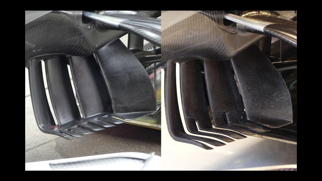 Mercedes - Technik - GP Spanien 2016