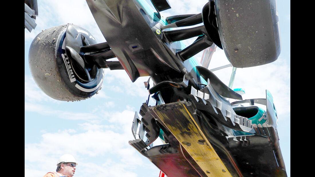 Mercedes - Technik - GP Spanien 2017