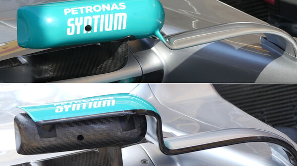 Mercedes - Technik - GP Spanien 2019