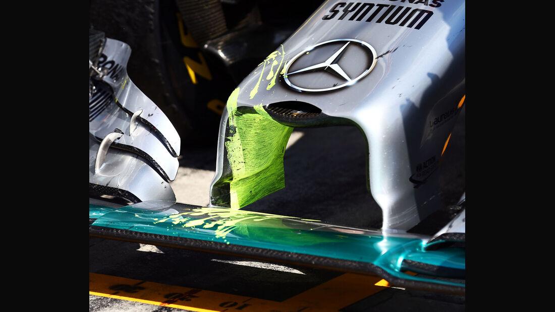 Mercedes - Technik - GP Ungarn/GP Deutschland 2014