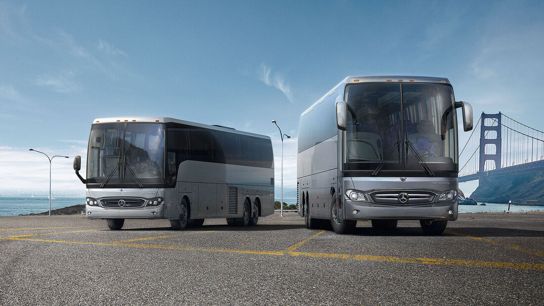 Mercedes Tourrider Reisebus USA