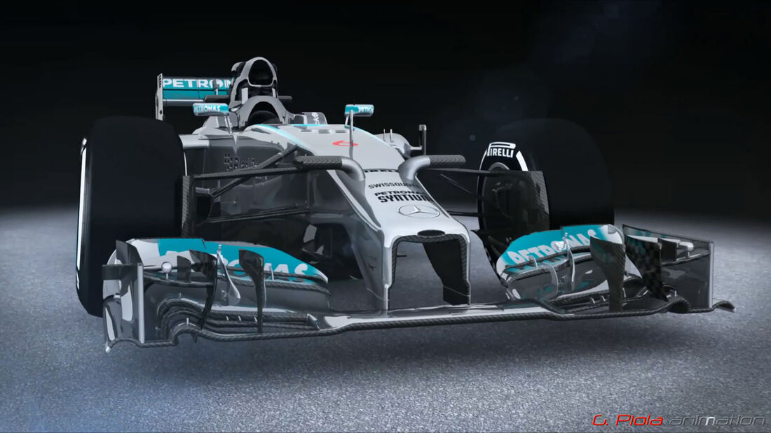 Mercedes-Updates 2014 - Piola Technik