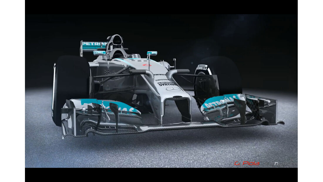 Mercedes-Updates 2014 - Piola Technik