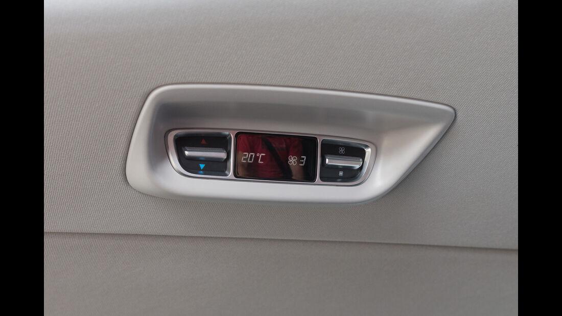 Mercedes V 220 d, Klimaautomatik, Anzeige