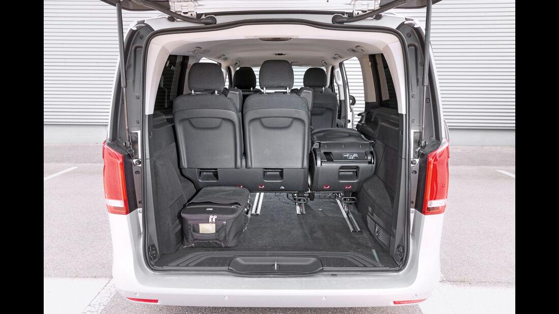 Mercedes V 220 d, Kofferraum