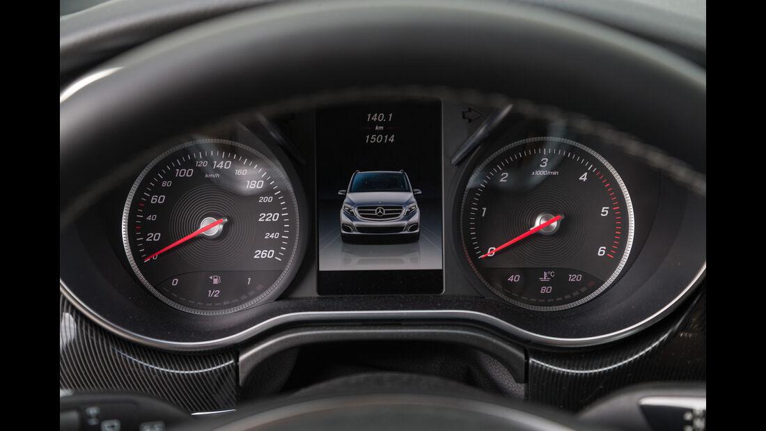 Mercedes V 220 d, Rundinstrumente