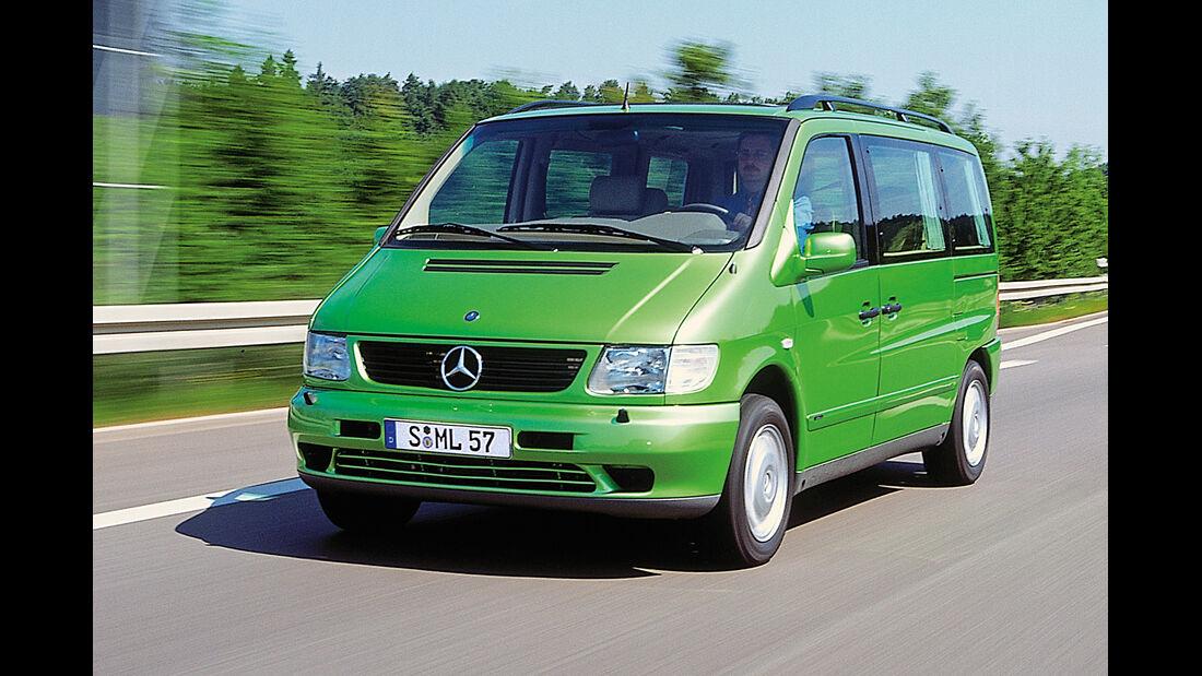 Mercedes V 230, Frontansicht