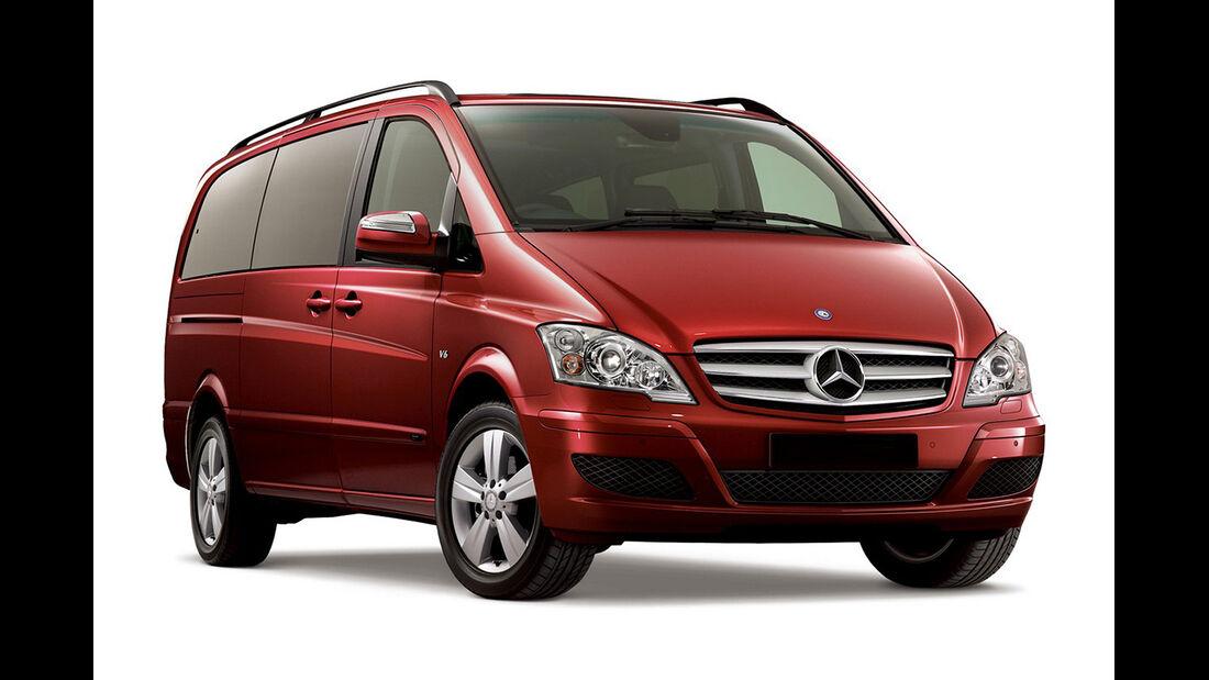 Mercedes V 230, Seitenansicht