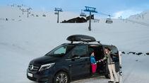Mercedes V 250 Bluetec 4Matic lang, Seitenansicht