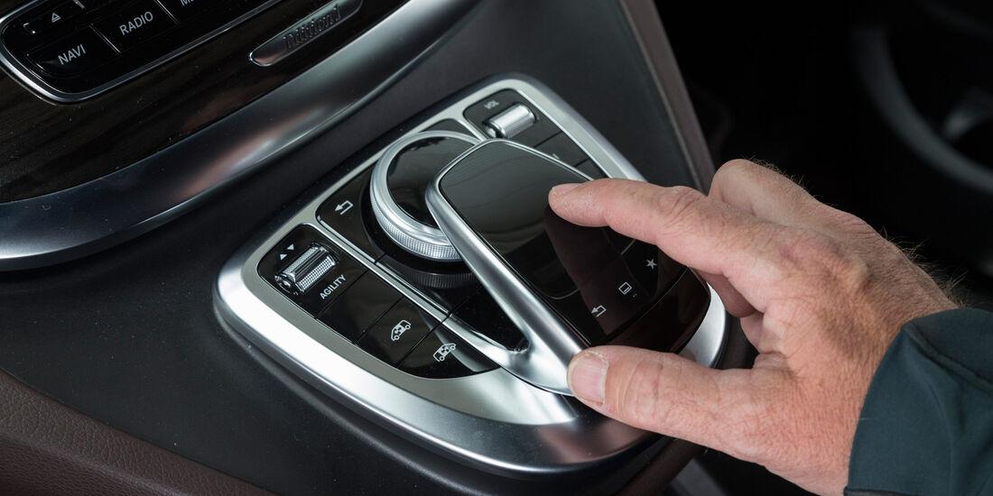 Mercedes V 250 Bluetec, Bedienelement