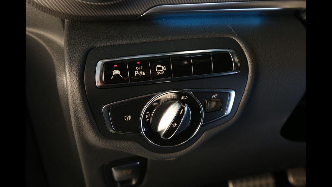Mercedes V 250 Bluetec, Bedienelemente