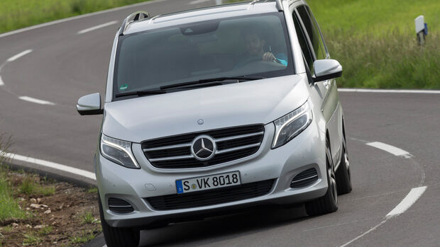 Mercedes V 250 Bluetec, Frontansicht