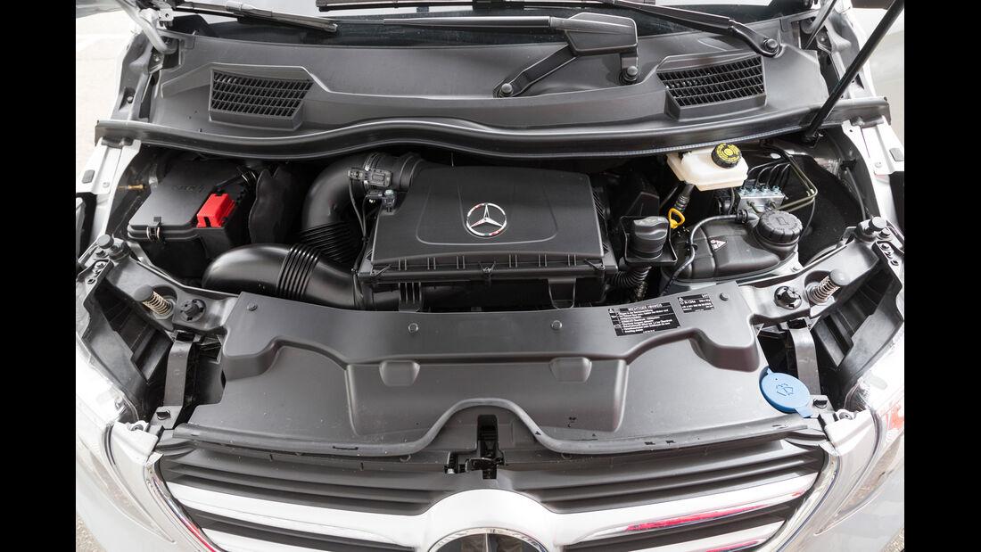 Mercedes V 250 Bluetec, Motor