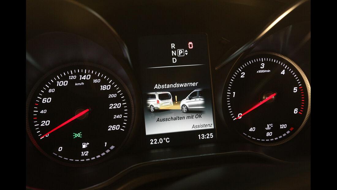 Mercedes V 250 Bluetec, Rundinstrumente